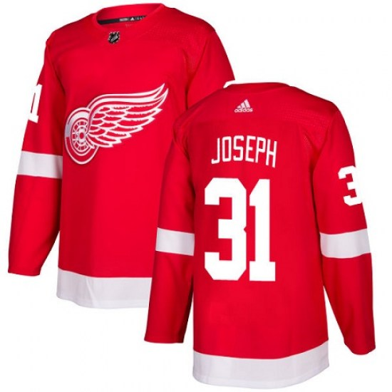 Curtis Joseph Detroit Red Wings Youth Authentic Home Adidas Jersey - Red