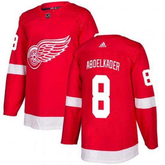 Justin Abdelkader Detroit Red Wings Youth Authentic Home Adidas Jersey - Red