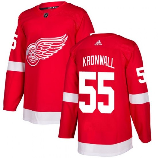 Niklas Kronwall Detroit Red Wings Youth Authentic Home Adidas Jersey - Red