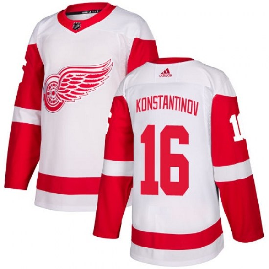 Vladimir Konstantinov Detroit Red Wings Women's Authentic Away Adidas Jersey - White