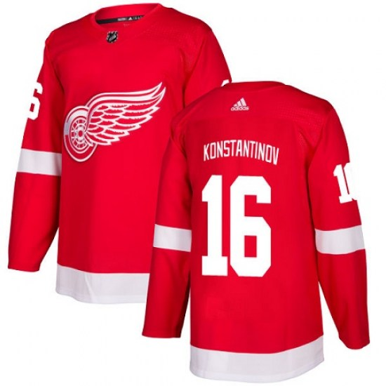 Vladimir Konstantinov Detroit Red Wings Youth Authentic Home Adidas Jersey - Red