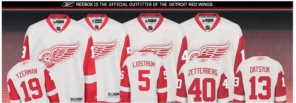 Red Wings Apparel - Detroit Red Wings Hockey Jerseys & Apparel - Red Wings Store